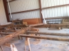 Antique barn frame repair and restoration