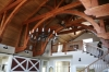 Trusses sanded and finished