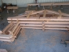 Trusses fitted in shop