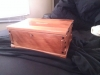 Greene & Greene style jewelry box from recycled Douglas fir
