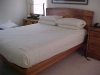 Maple and western red cedar platform bed designed by Terry Turney built by Tyler Turney