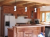 Garden Valley timber frame interior