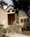 Lompoc timber frame entry