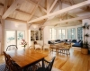 Lompoc timber frame interior