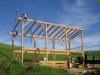 moorpark timber frame raising