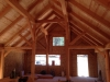 Nevada City timber frame enclosed
