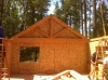 Nevada City timber truss