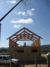 Paso Robles timber trusses