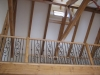 Paso Robles timber trusses interior