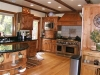 Shaver Lake timber frame and SIP interior