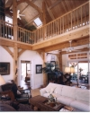 Atascadero timber frame interior