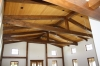 Timber Frame Great Room Trusses