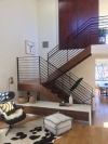 Silver Lake duplex open tread stairs built by Tyler Turney