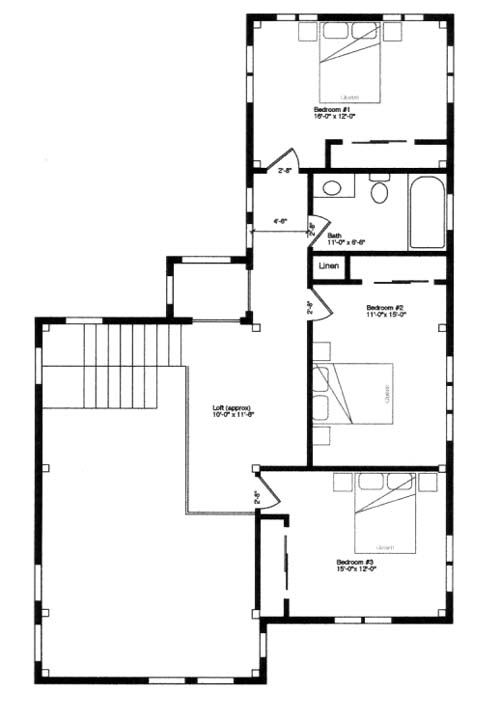 Tassajara canyon pacific post beam Sip homes floor plans