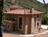 Tassajara canyon timber frame and SIP home finished exterior