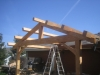 side view timber truss