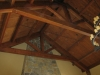 Raised chord Douglas fir truss finished, San Luis Obispo. Ca.