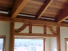 This inglenook truss in a home in Oak Shores At Lake Nacimiento was based on the work of Charles and Henry Greene.
