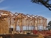 Trusses for the Vina Robles winery in Paso Robles, installed