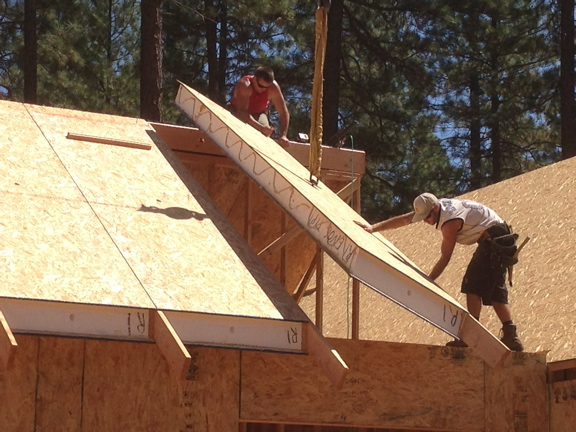 Nevada City Timber And Sip Home Pacific Post Amp Beam