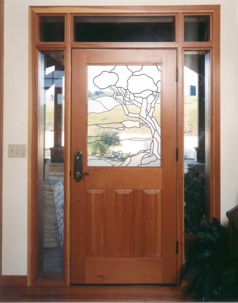 Royal Oaks Timber Frame Interior Royal Oaks Timber Frame Custom Entry Door