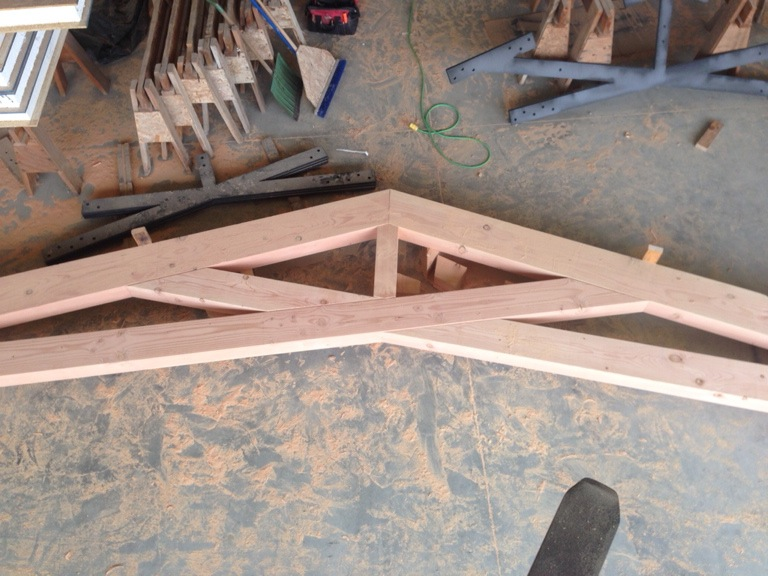 Watsonville Scissor Trusses Pacific Post Amp Beam